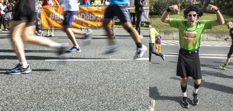 adrian biega dobrze